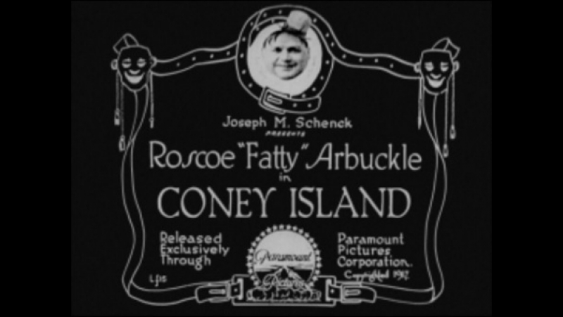 Coney Island (1917) Roscoe Arbuckle--Buster Keaton, Roscoe Arbuckle-,Al St. John