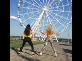 Волгоградские девушки станцевали рядом с новым колесом обозрения!