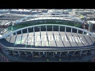 Полёт над стадионом