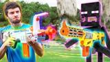 Nerf War Nerf meets Minecraft 1