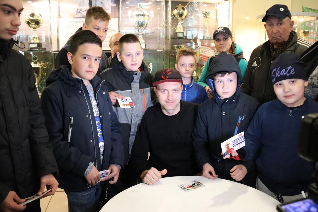 Автограф-сессия Владимира Пономарева (19.05.2019)