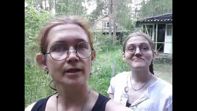 Зябла и Кэти рассказывают о строительстве зеленой крыши