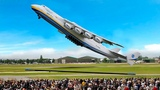 TOP 10 vertical takeoffs of airplanes 2018