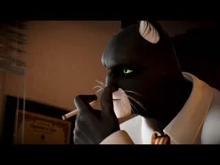 Blacksad under the skin story trailer pegi microïds, pendulo studios  ys interactive