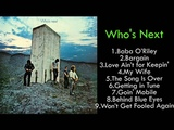 THE WHO . Who's Next