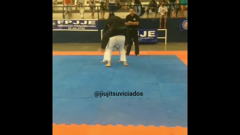 Сержио Риос: когда оппонент запрыгнул на спину. FPJJE, Subcon.