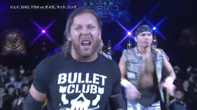 The Elite (Kenny Omega The Young Bucks) Entrance NJPW The New Beginning In Sapporo 2018 - Tag 1