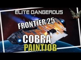 Elite Dangerous the F25 Paint pack for the Cobra and more