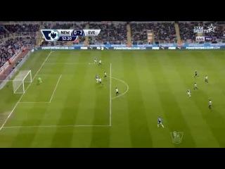 Ньюкасл Юнайтед 0-3 Эвертон HOOFOOT.COM