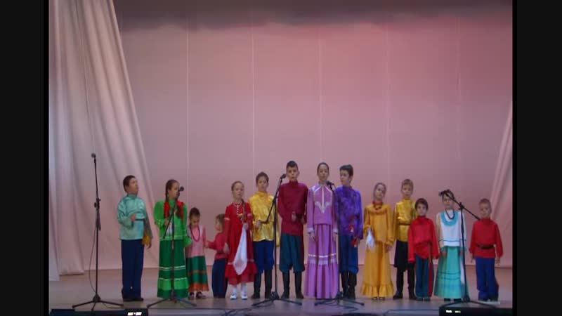 Детский фольклорный ансамбль Айда ДК ВГС