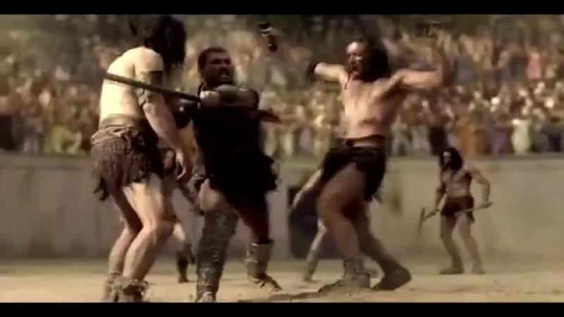 Клип на сериал Спартак-Кровь и Песок