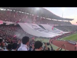 Dönüşümüz Muhteşem Olacak!.. Beşiktaş-Galatasaray Maçı Öncesi Tribünler   BESI