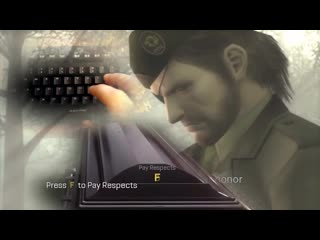 Press f to pay respect