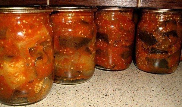 Рецепты салатов и закусок из баклажанов.