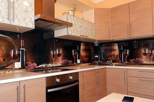 Кухонные фартуки из стекла каталог изображений