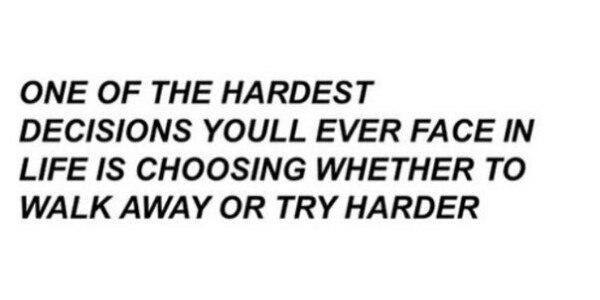 – Одно из самых трудных решений в твоей жизни, с которым ты когда-либо столкнёшь...
