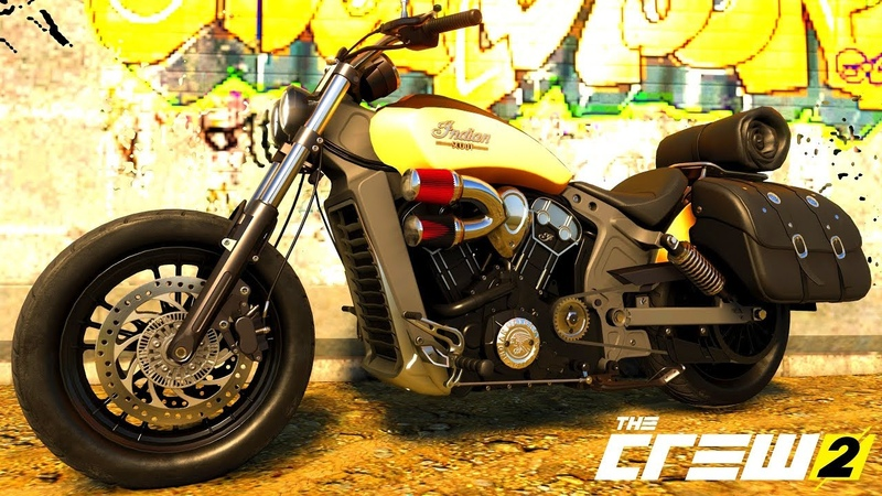 THE CREW 2 GOLD EDiTiON (TUNiNG) INDIAN SCOUT PART 459 ...