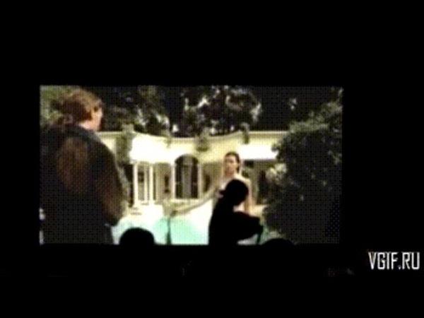 Обломщики в кинотеатре