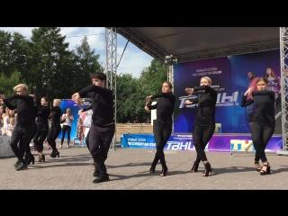 Всероссийская танцевальная гонка. Новосибирск