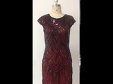 1920s Vintage Flapper Great Gatsby Party Dress