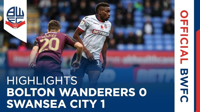 HIGHLIGHTS   Bolton Wanderers 0-1 Swansea City