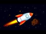 Обучающий мультфильм для детей про космос: Учимся читать склад ПА