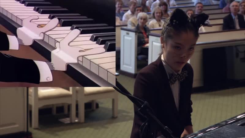 Yannie Tan plays the Cat Concerto - Tom and Jerry - Hungarian Rhapsody No.2 by Franz Liszt