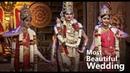 India's Most Beautiful Wedding Ever - Tirupati Balaji, Sridevi and Bhudevi || Kavasam Bhakthi