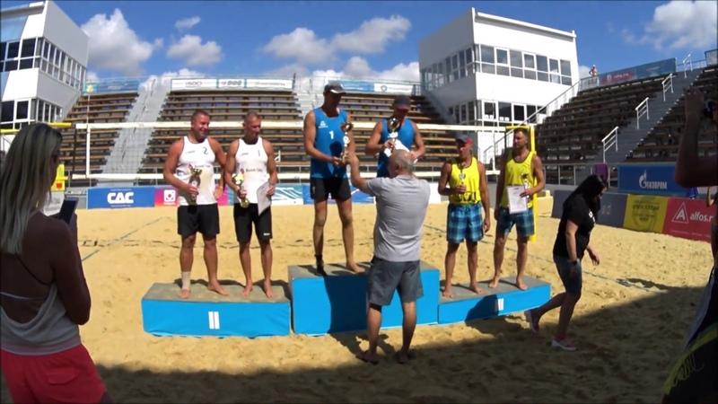 Финал и награждение. Пляжный волейбол, чемпионат России, мужчины 40.