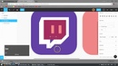 Figma howto - making twitch app icon
