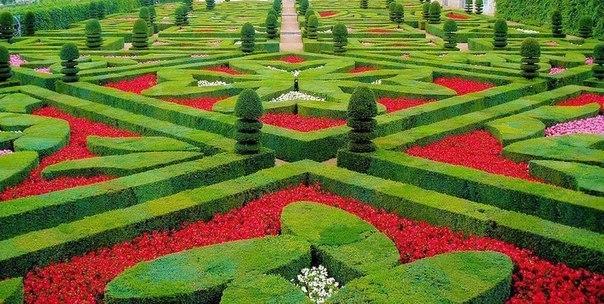 Сад любви в Шато де