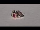 Роскошное кольцо «Трилогия»