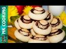 Песочное Печенье ГРИБОЧКИ ♥ Оригинально и Очень Вкусно ♥ Рецепты NK cooking