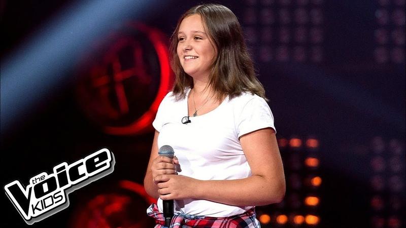 Julia Borowik - Lustra - Przesłuchania w ciemno - The Voice Kids Poland 2