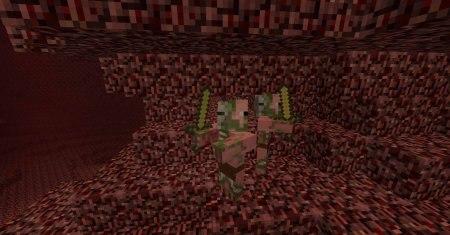 Как построить свинозомби в minecraft
