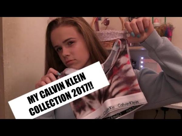 MY CALVIN KLEIN COLLECTION 2017!!