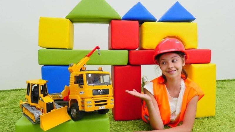 Eğlenceli video. Polen inşaatçı oluyor! Meslekler