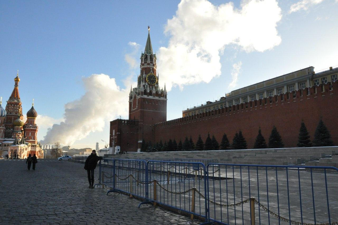 Москва, Красная площадь, Спасская башня