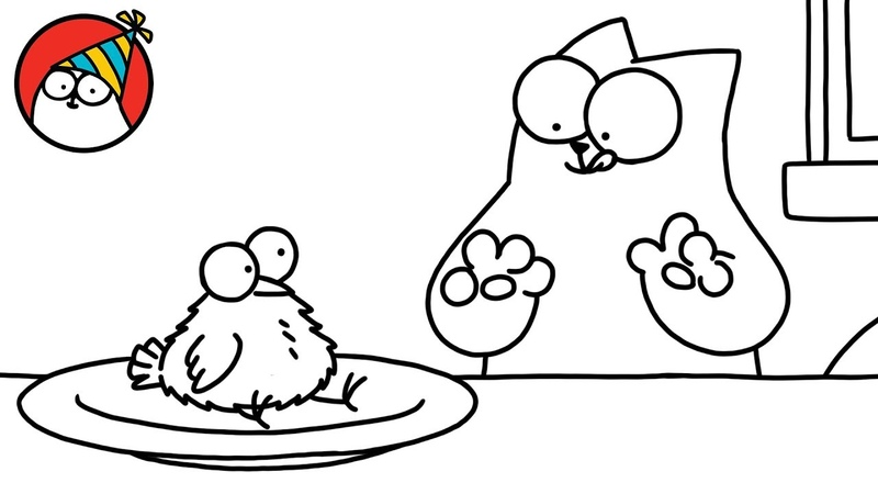 Festive Feast Other Cat Capers - Simon's Cat   SHORTS