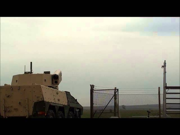 Javelin Missile Successfully Launched from Turreted Vehicle