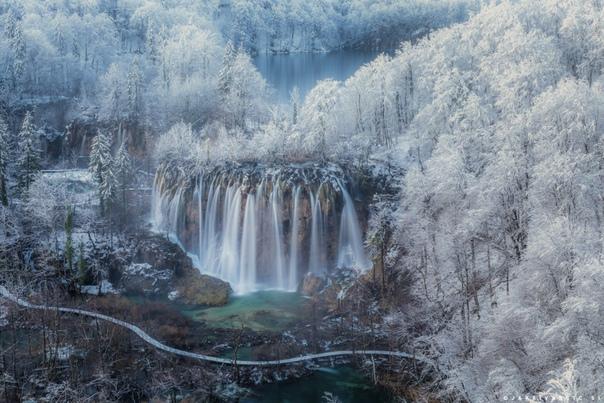 Плитвицкий Национальный парк, Хорватия.
