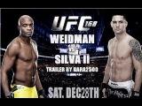 UFC 168 : Weidman vs Silva II LIVE трансляция