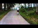 Rollerski training Victoria Padial