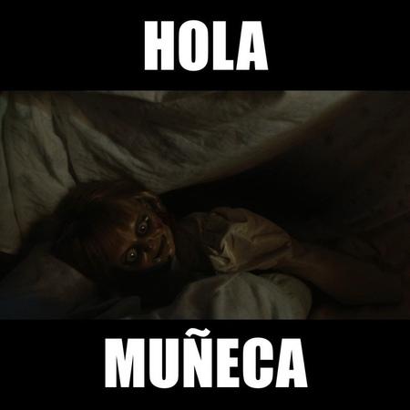 "Annabelle Comes Home on Instagram Hola Muñeca AnnabelleComesHome Compra boletos ahora link en bio """