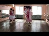 Татарский танец на конкурсе А ну-ка, девушки! А ну-ка парни!