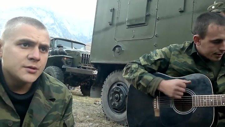 Армейская песня под гитару Девчонка 720