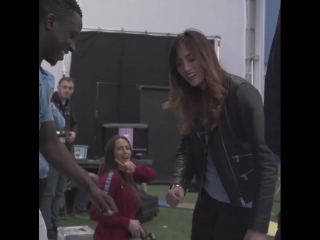 kelly_o_donnellSLO-MO FLOSS VIBES w benmendy23 #newkit #mancity #champions #fresh ps, I totally can't dance
