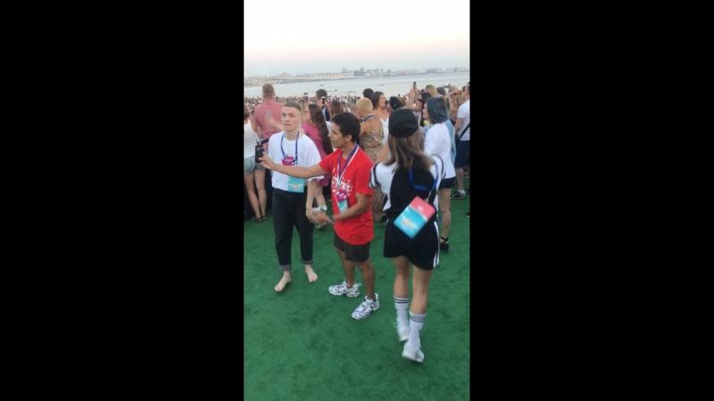 VkFest участники шоу танцы на ТНТ