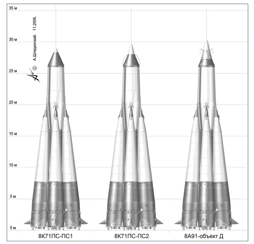 История программы Р-7 - стр. 1 - Новости астрономии и космонавтики