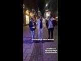 Zara and Brian on loxgold's Instagram story